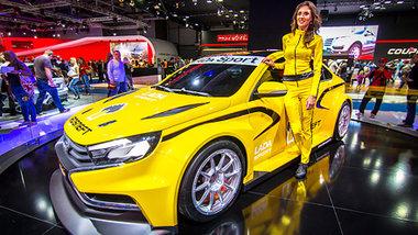 Renault avtovaz en vedette au salon mias moscou for Lada 09 salon