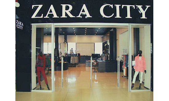 franchise de Zara en Russie