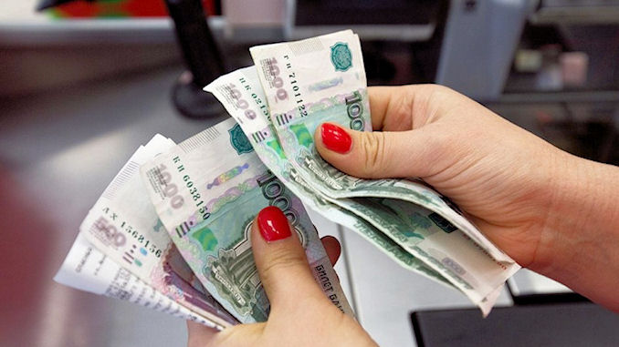 Russie argent liquide @lefilfrancoruss