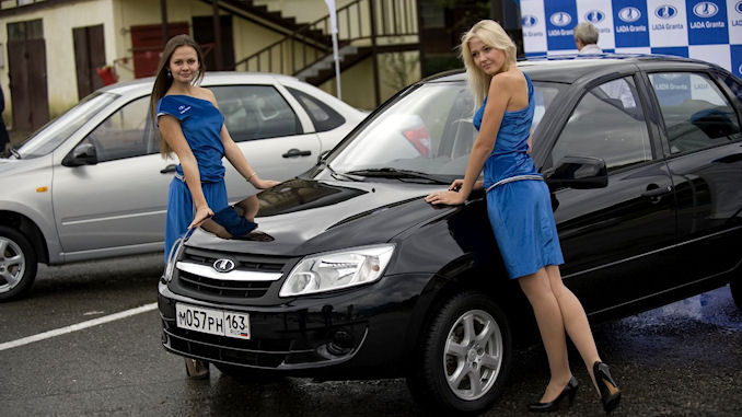 Le marché automobile russe s'est enflammé en avril 2018 @lefilfrancoruss