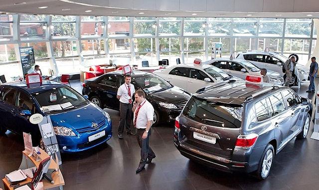Ventes automobiles en baisse en Russie