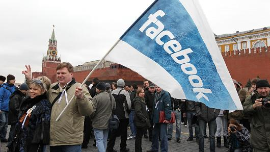 Facebook Linkedin interdit en Russie