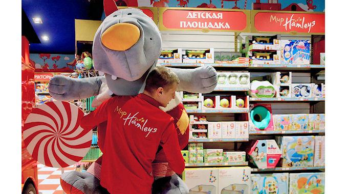 Hamleys, filiale du français Ludendo éprouve des problèmes en Russie @lefilfrancoruss