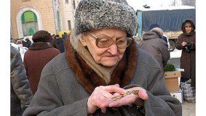 Baisse des revenus des Russes